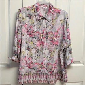 Alia Blouse Size 20W Floral Print